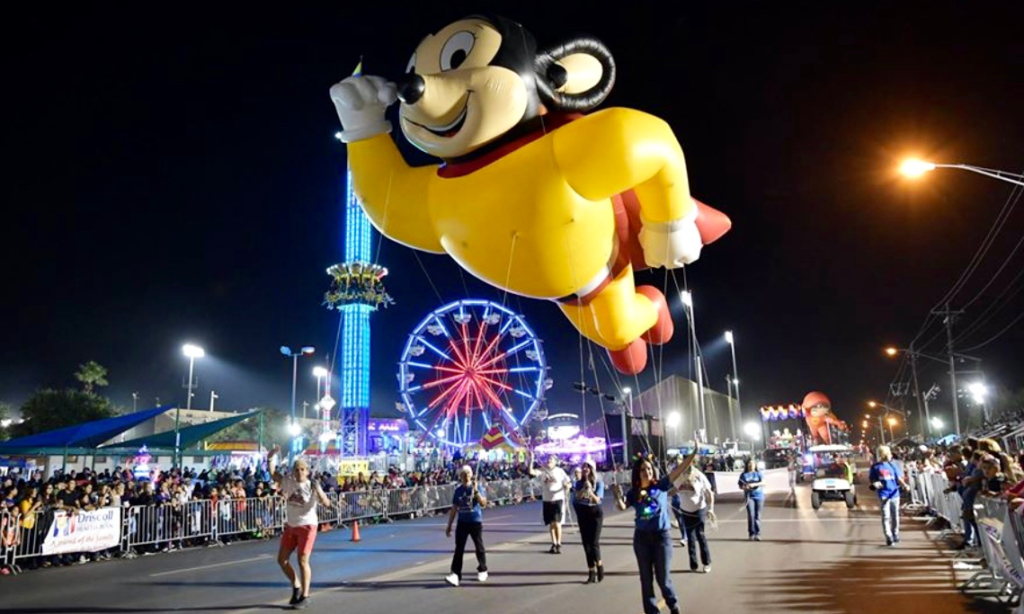 The McAllen Holiday Parade will feature 39 inflatable character balloons as it rolls Dec. 7.