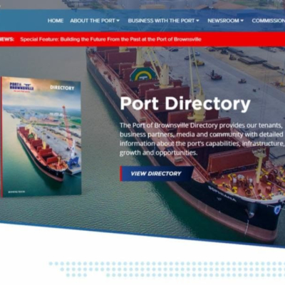 Port of Brownsville website