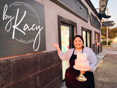Your Sweets by Kacy owner Kacy de la Garza started off as a home baker four years ago. This month marks one year of having her bakery up and running in Mission. (Courtesy)