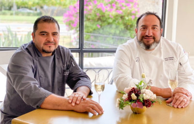 Salomé on Main's Stuffed Quail was dreamed up by owner Chef Larry Delgado and brought to life by Chef de Cuisine Victor Carillo. (VBR)