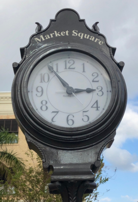 Clock at Market Square
