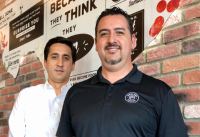 Owners Juan Garza and Agustin Guzman