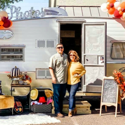 The Happy Camper owners Dina and German Hoppenstedt. (Courtesy)