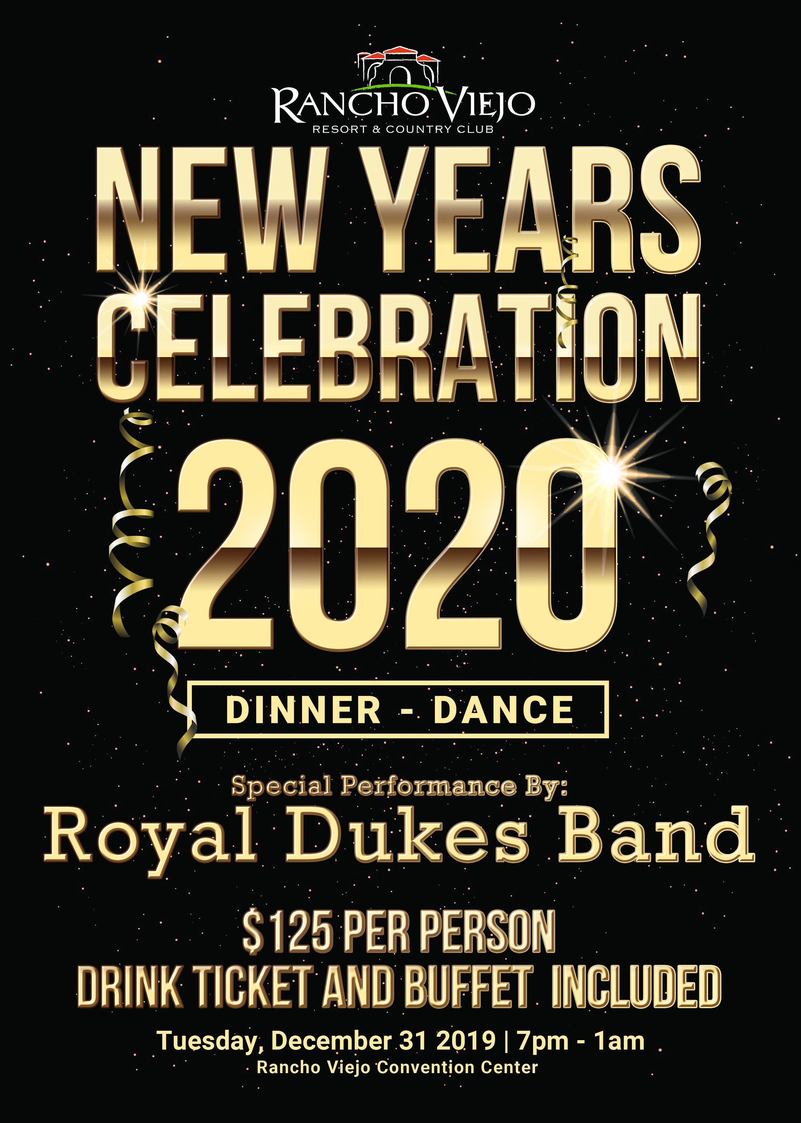 Rancho Viejo New Year celebration
