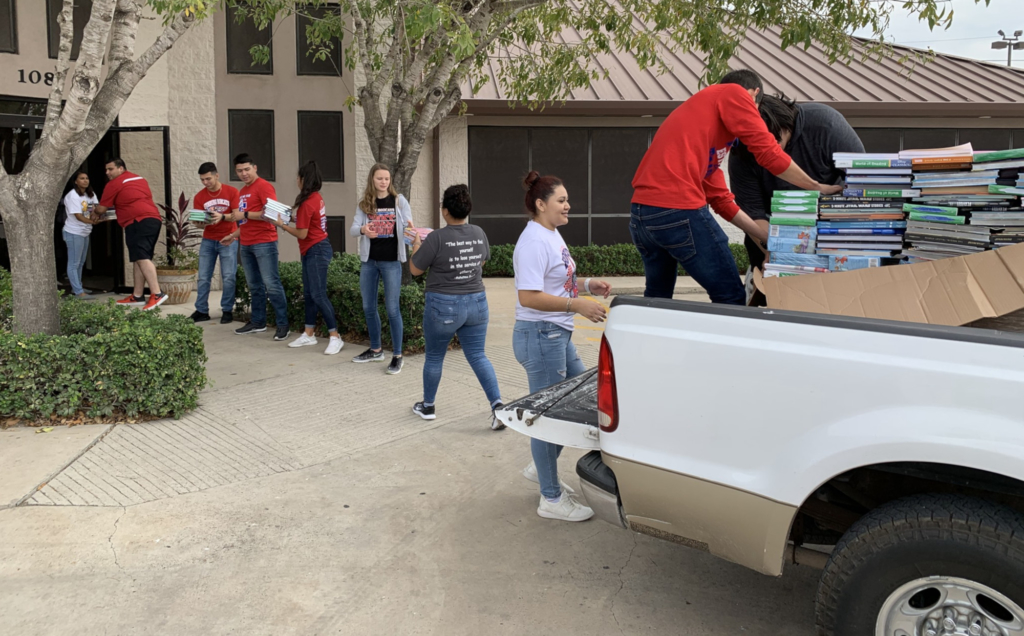 The South Texas Literacy Coalition is always in need of sponsors and volunteers to continue providing new books throughout the year to rural communities and children across the Rio Grande Valley.