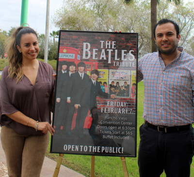 Jenika Gonzales and Jorge Lopez talk about the upcoming Beatles tribute concert at Rancho Viejo.