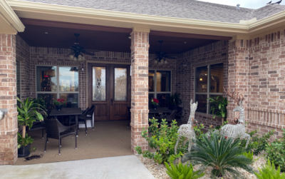 A secure outdoor patio is available for residents that would like to enjoy some time outdoors. (VBR)
