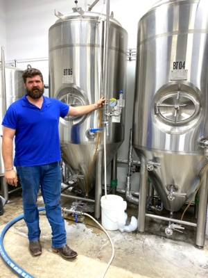 George Rice, co-owner and director of Operations of 5x5 Brewing Co., went to STC with an idea and from that the STC Brewery Apprenticeship Program was born. (VBR)
