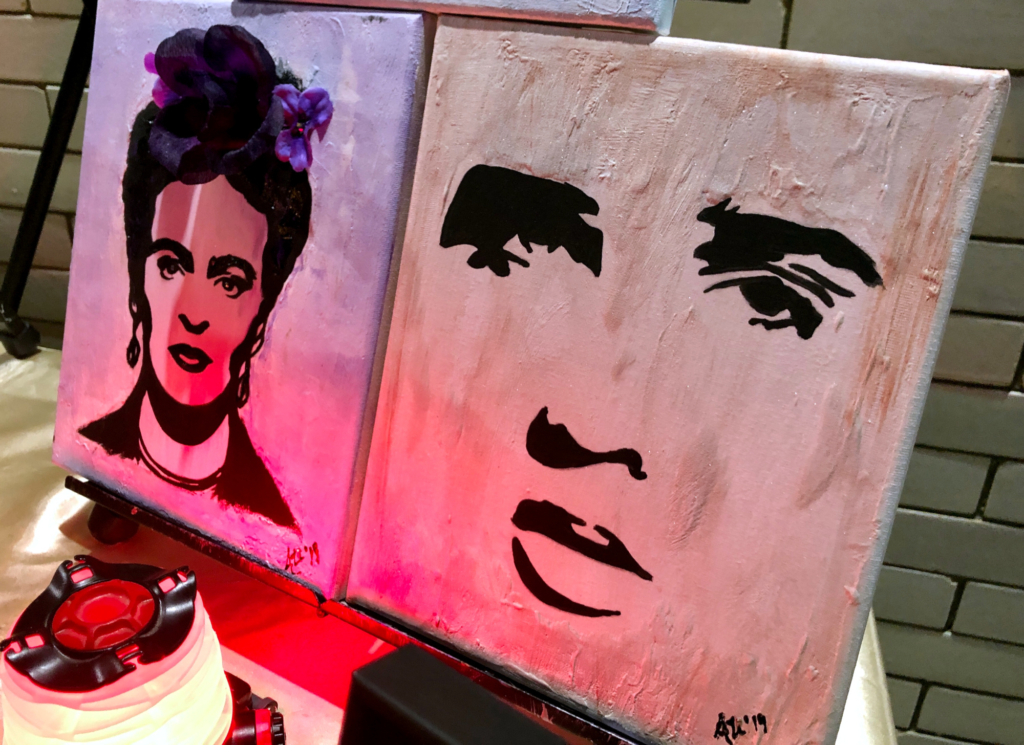 Ali Art & Co. paintings at Harlingen Art Night