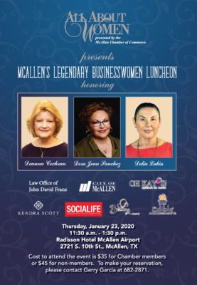 McAllen's Legendary Businesswomen Luncheon