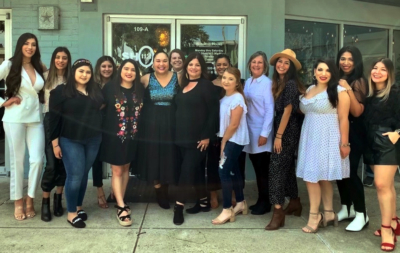 Mayra Brown and Monique Jeffrey Sanchez Chapa and their ever-growing team of women celebrate the eighth anniversary of Shop 112 in January. (Courtesy)