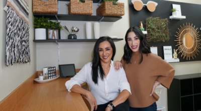 Mother-daughter team Edna Posada and Alexandria Posada have a workspace their team can enjoy spending time in. (Courtesy)