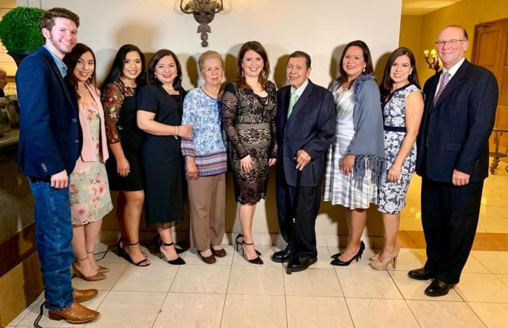 In Feb. 2019, Lorena Castillo-Saldaña received an Extraordinary Women Award from Mujeres Unidas, a domestic shelter in McAllen.