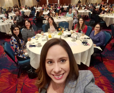 Attendees enjoy last year's 2019 luncheon where the City of McAllen honored its female employees.