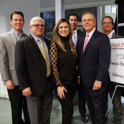 Harlingen EDC donates $100,00 to the TSTC Foundation.0