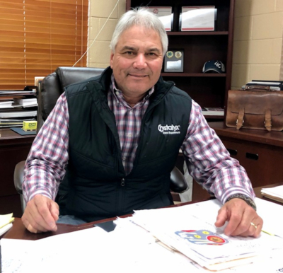 "Armando ""Mando"" Correa, the general manager of the RGV Livestock Show. (VBR photo)"