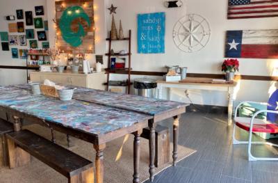 The new workshop space in Weslaco seats 70 people.