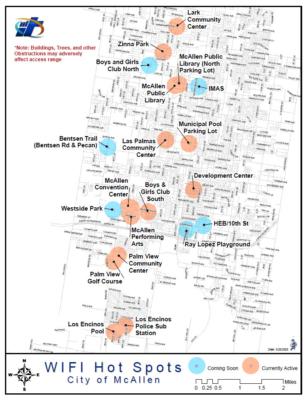McAllen Wi-Fi hotspots