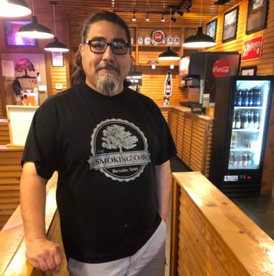 Mario Dominguez Jr.'s Smoking Oak barbecue restaurant of Mercedes is a popular destination for Rio Grande Valley BBQ fans.