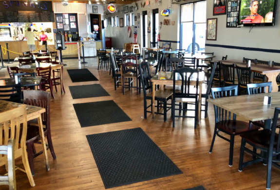 Restaurants like this one in Brownsville are the type of businesses that applied for SBA emergency loans. (VBR)