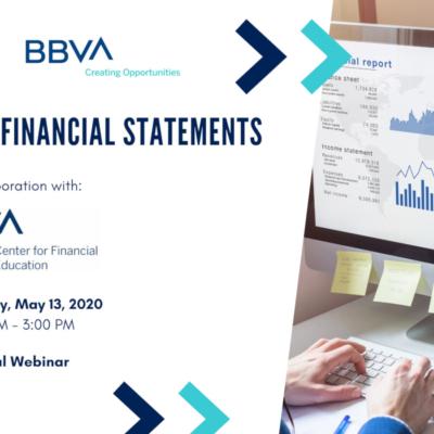 financial statements webinar