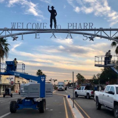 Pharr has remained busy during COVID-19 era. (Courtesy)