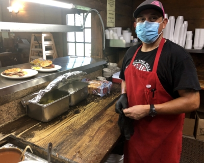 Jesse Rodriguez oversees the kitchen operations at Longhorn Cattle Company.