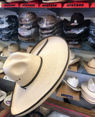 Lionel's features a wide variety of cowboy hats as part of a diverse inventory at the Weslaco store.