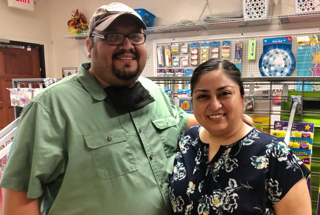 Patrick and Rebecca Alvarez are teachers/owners of Super Teachers Supply.