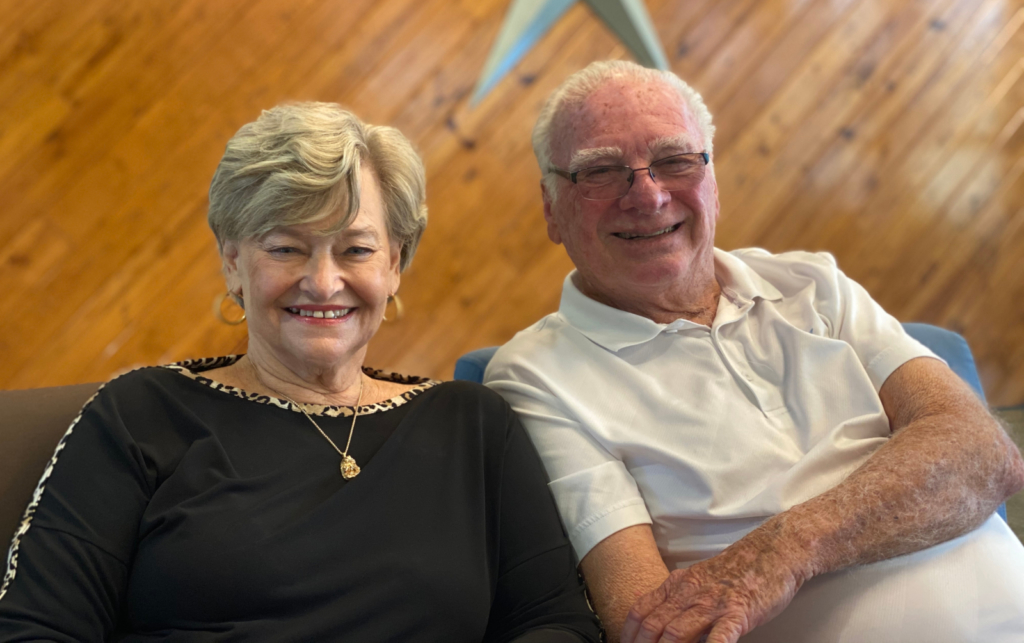 Carol and Charles Law of Chuck's Icehouse Volleybar & Grill are recipients of HELP for Small Business. (courtesy