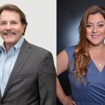 2019 Man and Woman of the Year Bob Boggus and Jessica Delgado