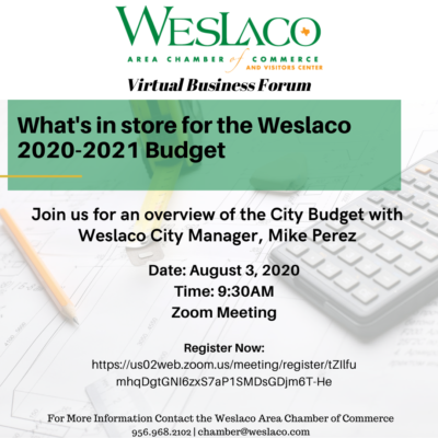 Weslaco budget