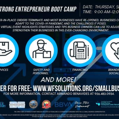 Strong Entrepreneur Boot Camp