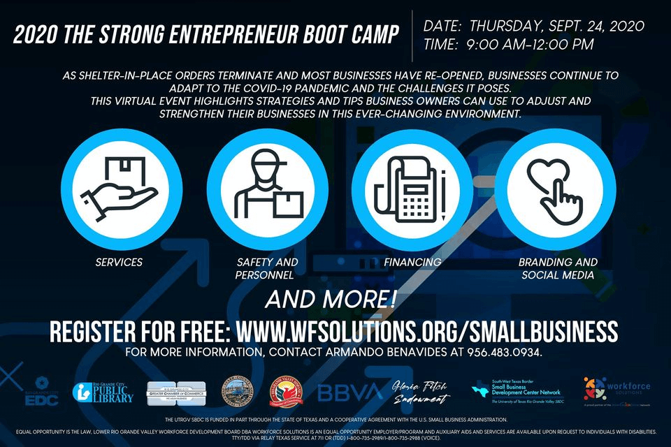 Strong Entrepreneur Boot Camp