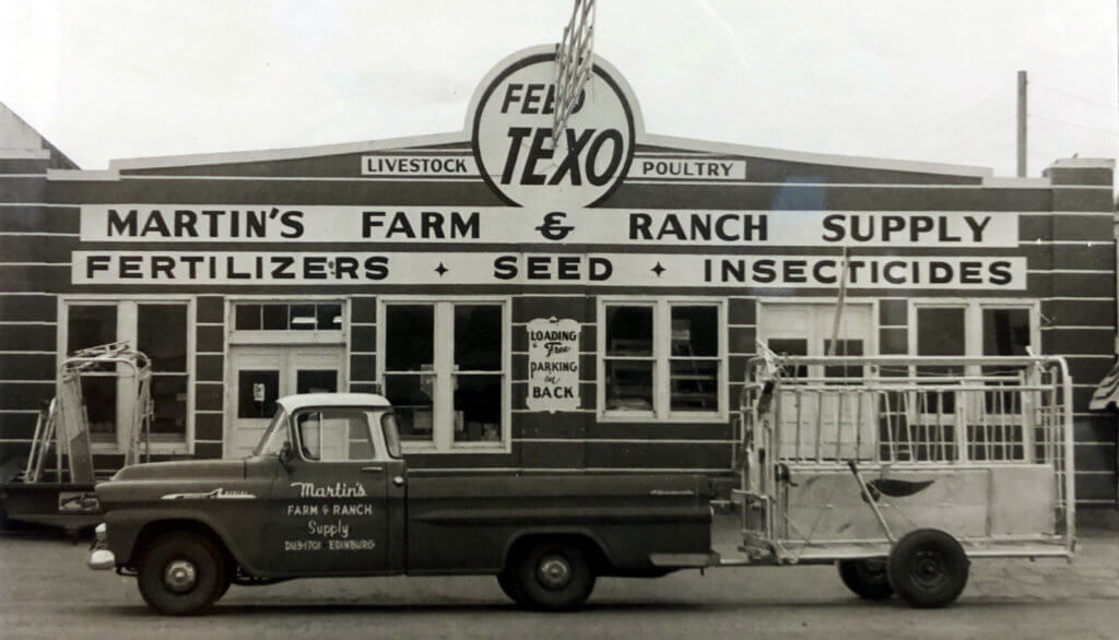 The original Martin's opened in Edinburg on Harriman Drive more than 60 years ago.