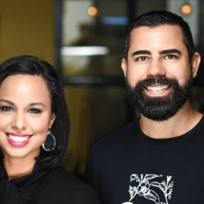 Michelle and Danny Quiroz, owners of Reserva Coffee Roasters
