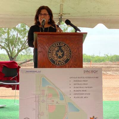 Precinct 4 Chief of External Affairs Velinda Reyes