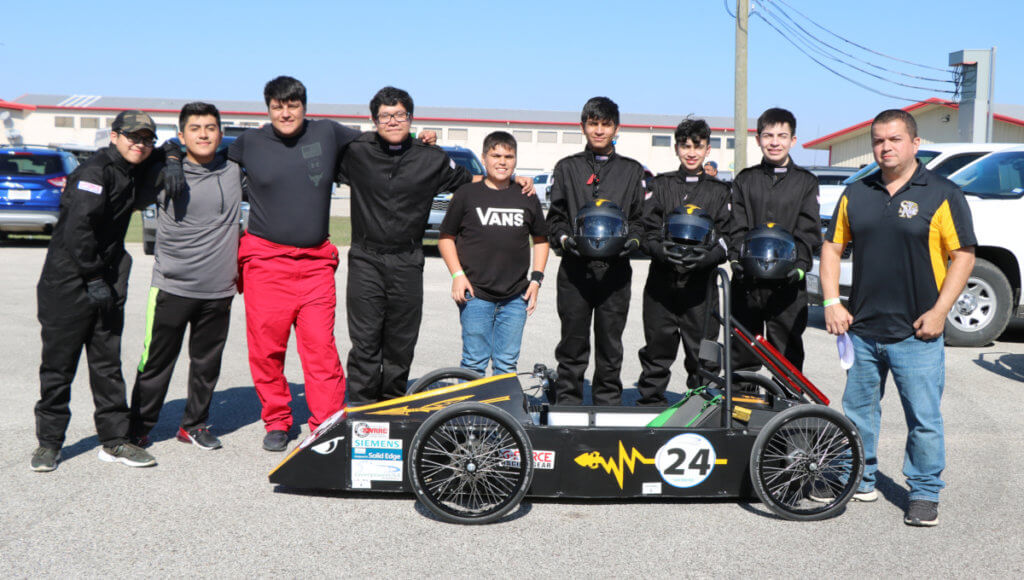 Santa Rosa High School students build a single-seat, electric-powered race car at the ACE center.