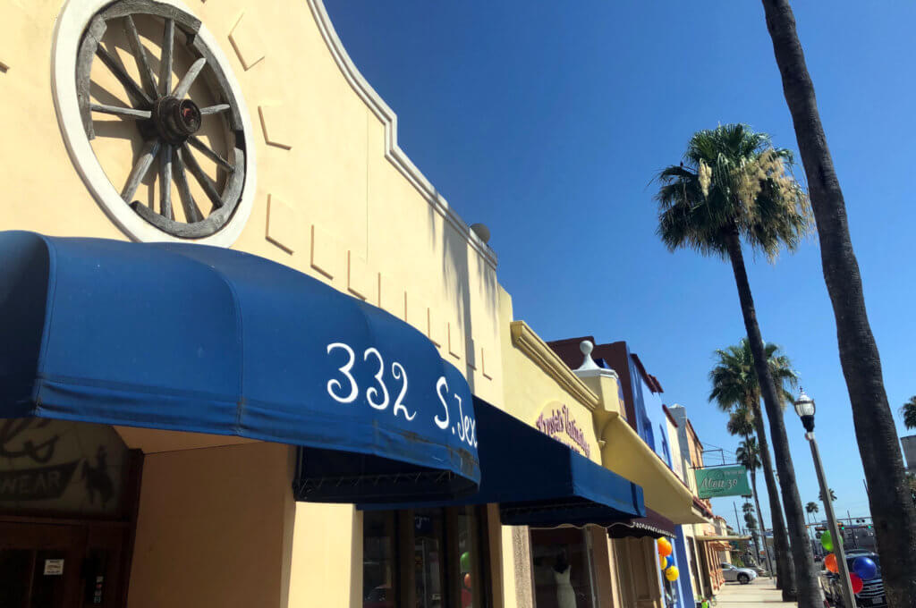 Local businesses in downtown Weslaco have strong connections to their community.