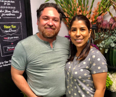 Rodrigo and Mariana have built Southern Roots, a successful marketplace floral business in McAllen.