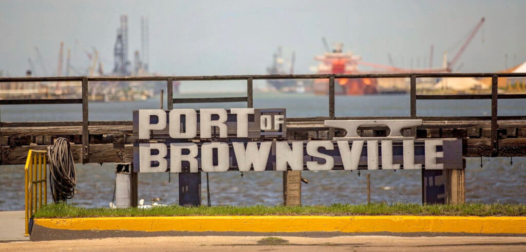 Port of Brownsville is moving ahead with many projects. (courtesy)