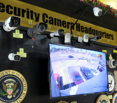 RGV SpyTek in McAllen specializes in security devices, including security cameras that meet the needs of both residential and commercial customers.