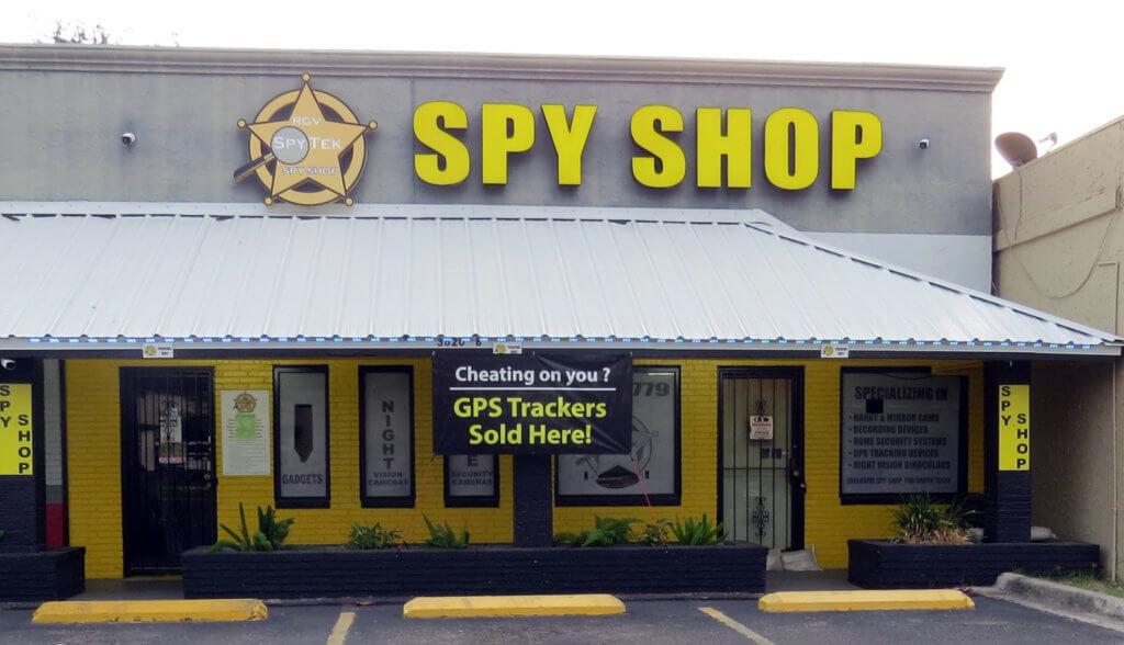 RGV SpyTek, a spy-lover's paradise, at 3620 North 23rd Street in McAllen.
