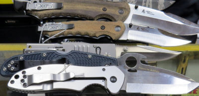 A wide variety of knives are available at RGV SpyTek.