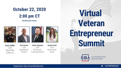 Virtual Veteran Entrepreneur Summit 2020