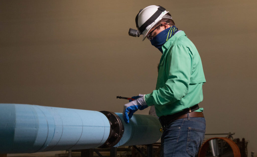 TSC is now offering a new workforce-training Industrial Insulation program. (photo STC)